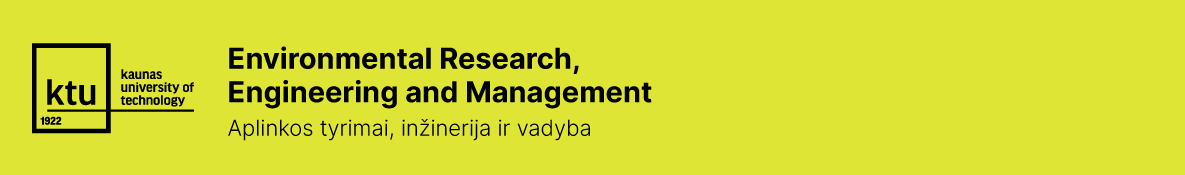 Environmental Research, Engineering and Management